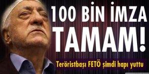 Feto'nun iadesi kampanyasında 100 bin imzaya ulaşıldı