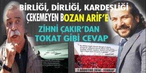 Sözde 'Ülkücü Ozan' Arif'ten 80 milyon TÜRK'e hakaret