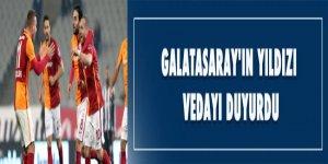 Galatasaray'ın yıldızı vedayı duyurdu