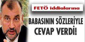 Murat Ülker iddialara babasının sözleriyle cevap verdi