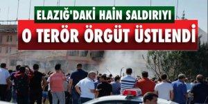 Elazığ'daki hain saldırıyı o terör örgüt üstlendi