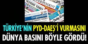 Dünya basını Türkiye'nin harekatını böyle gördü