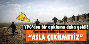 Küstah açıklama: 'Operasyon DAEŞ'e değil, kürtlere karşı...'