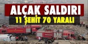 Cizre'de alçak saldırı! 8 Şehit 45 yaralı