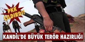 PKK çıldırdı! Kandil'de büyük terör hazırlığı