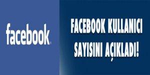 Facebook kullanıcı sayısını açıkladı!