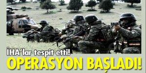 Teröristlere operasyon başlatıldı!