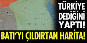 Türkiye'nin çizdiği harita Batı'yı rahatsız etti