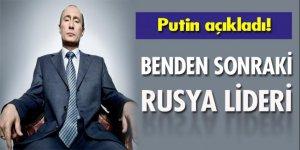 Putin'den kendinden sonraki Rus lideri tanımladı