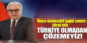 'Türkiye bizim için anahtar ülke'