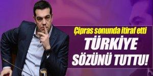 Çipras: Türkiye göçmen mutabakatında sözünü tuttu
