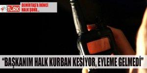 Demirtaş'a 'ikinci' halk şoku: 'Başkanım halk kurban kesiyor eyleme gelmedi'