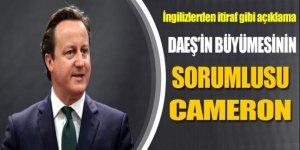'DAEŞ'in büyümesinin sorumlusu Cameron'