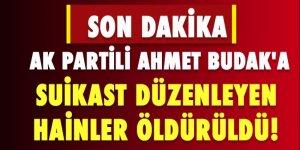 AK Partili Ahmet Budak'a Suikast Düzenleyen Teröristler Öldürüldü