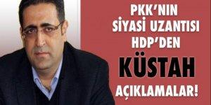 PKK'nın siyasi uzantılarından küstah tehdit!