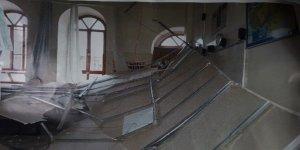 Okulun Tavanı çöktü! Yaralılar var