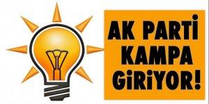 AK Parti Kampa giriyor!