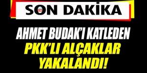 Ahmet Budak'ı katleden teröristler yakalandı