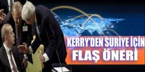 Kerry'den Suriye ile ilgili flaş öneri!