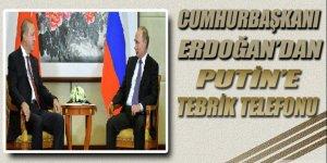 Cumhurbaşkanı Erdoğan, Putin'i seçim başarısından dolayı tebrik etti