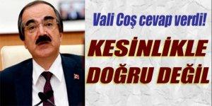 Vali Hüseyin Avni Coş'tan Adil Öksüz iddialarına cevap
