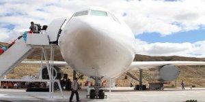 Uçak kütüphane açıldı