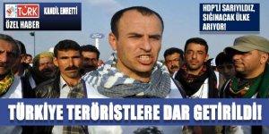 Teröristvekillere Türkiye dar geldi!