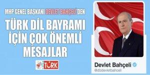 Bahçeli, o 'bölücü tabela'nın asılmasını Türkçe'ye zulüm olarak niteledi!