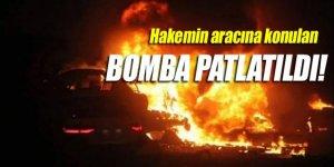 Güney Kıbrıs'ta hakemin arabasına konulan bomba patlatıldı!