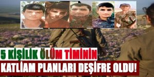 İstihbarat PKK'nın yeni bir katliam planını deşifre etti.