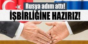 Rusya'dan 'Türkiye'ye iş birliği mesajı!