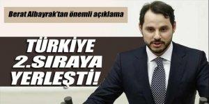Enerji Bakanı Albayrak: Türkiye enerji büyümesinde 2. sıraya yerleşti