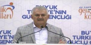 Başbakan Yıldırım AK Parti Gençlik Kolları'nda konuşuyor