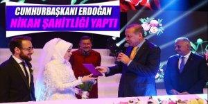 Cumhurbaşkanı Erdoğan Recep Akdağ'ın oğlunun düğününde nikah şahitliği yaptı!