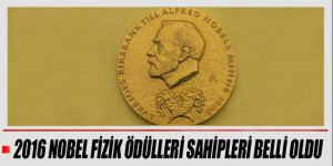 2016 Nobel Fizik Ödülleri sahiplerini buldu