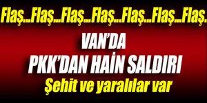 Van'da PKK'dan hain tuzak: 1 şehit