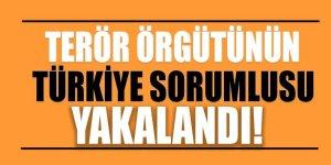 Terör örgütünün Türkiye sorumlusu yakalandı!