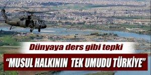 Londra'daki Musullu vatandaşlardan Türkiye'ye teşekkür