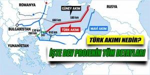 Türk Akımı projesinin detayları belli oldu