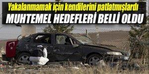 Ankara'daki canlı bombaların muhtemel hedefleri belli oldu