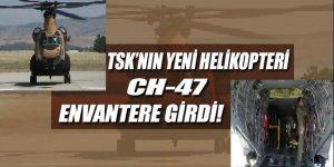 TSK'nın envanterine yeni bir helikopter daha eklendi