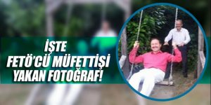 FETÖ'den açığa alınan müdürü araştıran müfettişi bu fotoğrafı yaktı