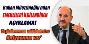 Bakan Müezzinoğlu'ndan promosyon açıklaması!