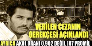 Rüzgar Çetin'e verilen cezanın gerekçesi açıklandı