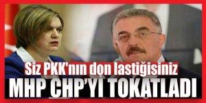 MHP'den CHP'ye tokat gibi cevap:  Siz PKK'nın don lastiğisiniz