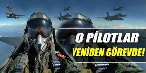 FETÖ'den gözaltına alınan pilotlar yeniden görevde!