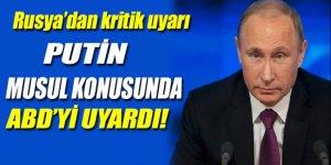 Putin'den Musul operasyonu açıklaması