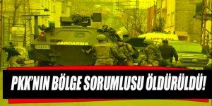 Siirt'teki terör operasyonunda bölge sorumlusu öldürüldü!