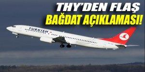 THY'den flaş 'Bağdat' açıklaması