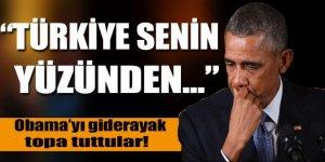 Obama'yı Türkiye yüzünden topa tuttular